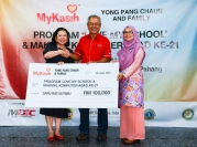 Contribution by Yong Pang Chaun and family to 134 Temuan Children