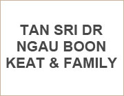 Tan Sri Dr Ngau Boon Keat & Family