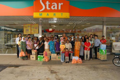 MyKasih Launch in Caltex Selayang (Dec 2008)