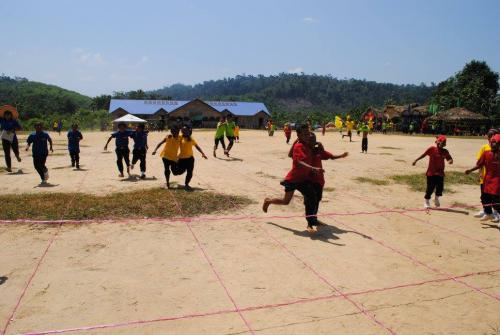 PDK Cenwaey Penaney holds first Sports Day for Semai OA Students