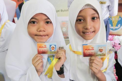 Mah Sing Foundation School programme in collaboration with MyKasih Foundation