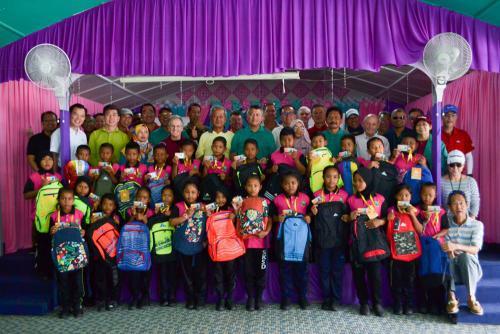 Dialog Group's senior management team helped revamp SK Sungai Dua in Bentong, Pahang