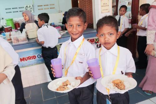 MyKasih 'Love My School' programme launch for the Bateq Orang Asli students